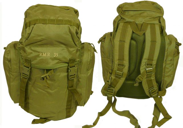 35 litre military rucksack olive army surplus military surplus. Black Bedroom Furniture Sets. Home Design Ideas