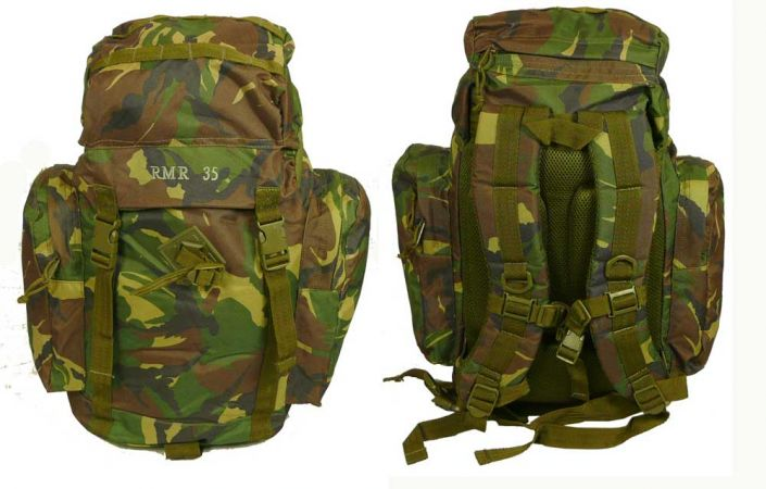 35 litre military rucksack camo army surplus military surplus. Black Bedroom Furniture Sets. Home Design Ideas