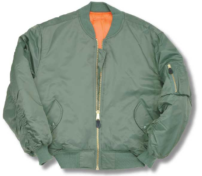 US MA-1 Bomber Flight Jacket (Green) &gt Army Surplus &gt Military Surplus